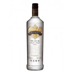 Vodka Smirnoff Black Small Batch 1 Litro