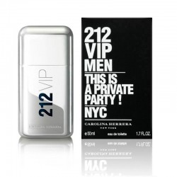 0c134841d314f Perfume Carolina Herrera 212 VIP Men 50ml
