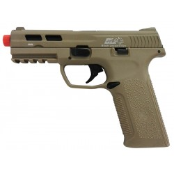 Pistola Airsoft Black Leopard BLE-006-ST XAE GBB Marrom BBS 6mm