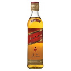 Whisky Johnnie Walker Red Label 375 ml sim Caixa