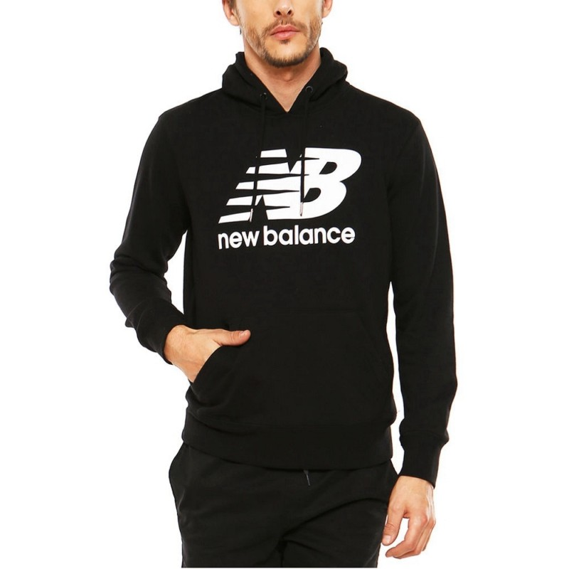 9e4913a190c ... Moletom New Balance Essentials Plus Pullover Hoodie MET5198 Masculino  ...