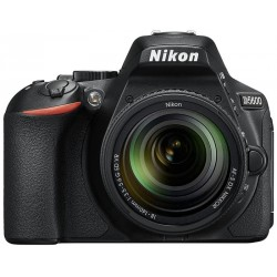 CAM NIKON D-5600 KIT 18-140 24.2MP
