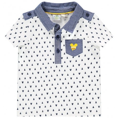 b14b490ac8 Camisa Polo infantil Orchestra Mickey Mouse MN0204 105 - Masculina ...