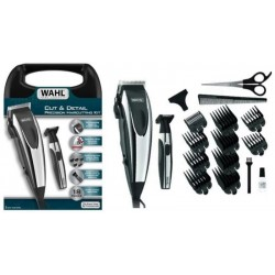 Kit Máquina de Corte Wahl Cut & Detail Precision Haircutting 9243-6258 - Preto (230V)