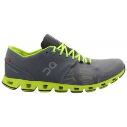 On Running Cloud X 000020.4300 - Grey/Neon (Masculino)