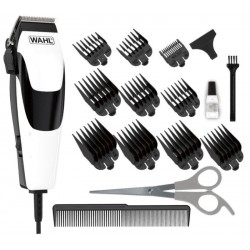 Kit Máquina de Corte Wahl Quick Cut Haircutting 09314-2418 - Preto/Branco (220V)