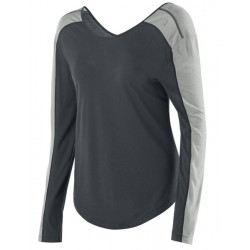 Camiseta Asics Relaxed Long Sleeve WR2616 0779 - Feminina