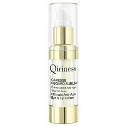 Creme Anti-idade para Ohlos & Labios Qiriness Caresse Regard Sublime 15mL