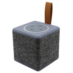 Speaker One Techniques Party Box Galaxy Bluetooth - Cinza