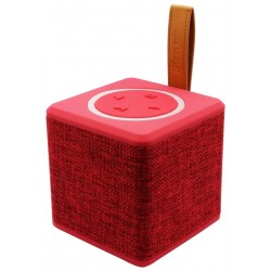 Speaker One Techniques Party Box Galaxy Bluetooth - Vermelho