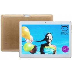 "Tablet Mibo MBT-10 Tela 10"" WiFi 1Gb/8Gb Câm. 0.3/5MP Dourado"