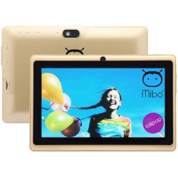 "Tablet Mibo MBT-07 Tela 7"" WiFi 1Gb/8Gb Câm. 0.3/5MP Dourado"
