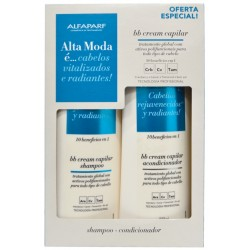 Kit Alfaparf Alta Moda BB Cream Capilar Shampoo + Condicionador 300mL