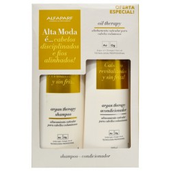 Kit Alfaparf Alta Moda Oil Therapy Shampoo + Condicionador 300mL