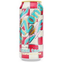 Suco Arizona Ice Tea With Raspberry Flavor 458ml