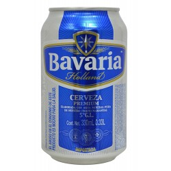 CERVEJA BAVARIA HOLLAND 330ML LATA