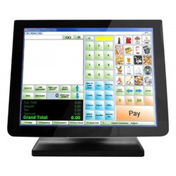 "Monitor 3nStar 15"" TCM010 Capacitive Touch Screen - Preto"