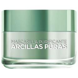 Máscara Facial L'Oréal Paris Purificante 40g
