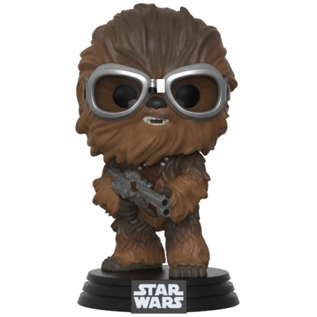 Boneco Chewbacca - Star Wars - Funko POP! 239 - Booble-Head