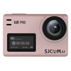 Câmera SJCAM SJ8 Pro ActionCAM 2.33'' Touch Screen 4K/WiFi - Rose Gold