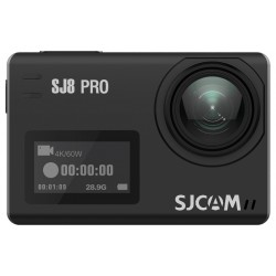 Câmera SJCAM SJ8 Pro ActionCAM 2.33'' Touch Screen 4K - Preto