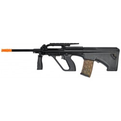 Fuzil Airsoft Army Armament AUG R901 AEG Preto BBS 6mm