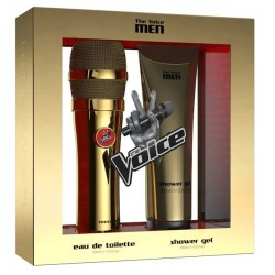 Kit Perfume The Voice Men Gold EDT 100mL + Shower Gel 150mL - Masculino