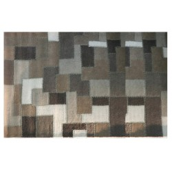 Tapete Artesanal Indiano Patch Natural (160 x 230 cm)