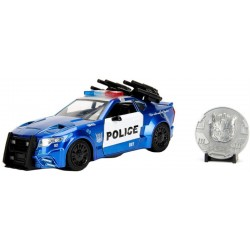 Carrinho Jada Die Cast Metal Barricade Transformers The Last Knight 1:24