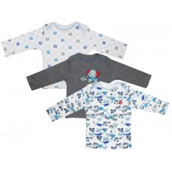 b46a9505b96 Camiseta Fisher-Price 147-A07-0780 - Infantil Masculino (3 Unidades)