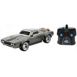 Carro Controle Remoto Die Cast Dom's Ice Charger Fast and Furious 8 1/16