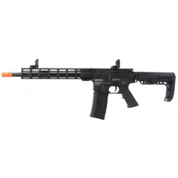 "Fuzil Airsoft Gato M4 MLOK 12"" AEG Black BBS 6mm"