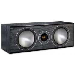 Caixa Acústica Central 2-Vias Monitor Áudio Bronze Centre para Home Theater 120W-Preto