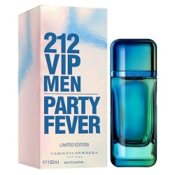 Perfume Carolina Herrera 212 Vip Men Party Fever EDT 100mL - Masculino