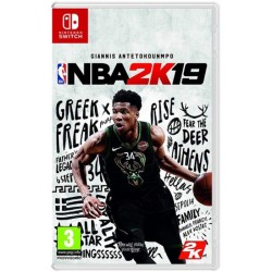Jogo NBA 2K19 Giannis Antetokounmpo - Nintendo Switch