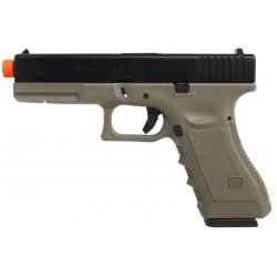Pistola Airsoft Army Armament R17 GBB Verde BBS 6mm