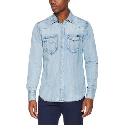 Camisa Jeans Replay M4981.000 26C 295.011-Masculina