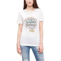 Camiseta Replay W3987A.20994.001 - Femenina