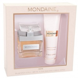 Kit Perfume Paris Bleu Mondaine EDP 95mL + Body Lotion 125mL - Femenino