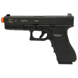 Pistola Airsoft Double Bell G17 721 GBB Preto BBS 6mm