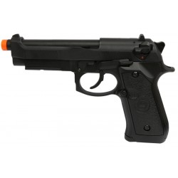 Pistola Airsoft Double Bell M92 736 GBB Preto BBS 6mm
