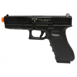 Pistola Airsoft Double Bell G17TTI 769 GBB Preto BBS 6mm