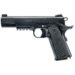 Pistola Airsoft Browning 1911 Mechanical Airsoft 25878 Spring Preto BBS 6mm