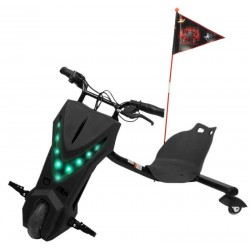 Triciclo Elétrico Mibo Cooltoy Drifting Scooter - Preto