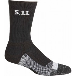 "Medias 5.11 Tactical Level 1 6"" Sock 59047-019 Negro - L"