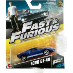 Fast & Furious Ford GT-40 Mattel - FCF35 - (Diverso)