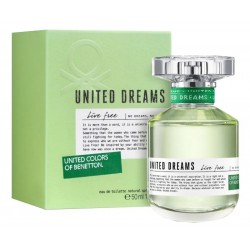 Perfume Benetton United Dreams Live Free EDT 50mL - Femenino