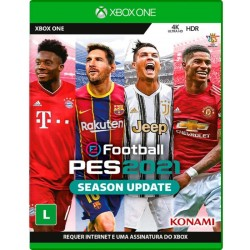 Juego Pro Evolution Soccer 2021 eFootball Season Update - XBOX ONE