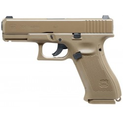 Pistola Airgun Umarex Glock 19X CO2 4,5mm BBS Coyote