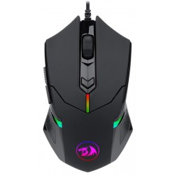 Mouse Gaming Redragon Centrophorus 2 M601-RGB 7200 DPI con cable - Negro